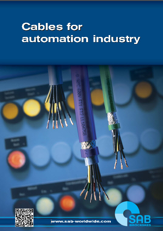 SAB Cables for Automation Industry