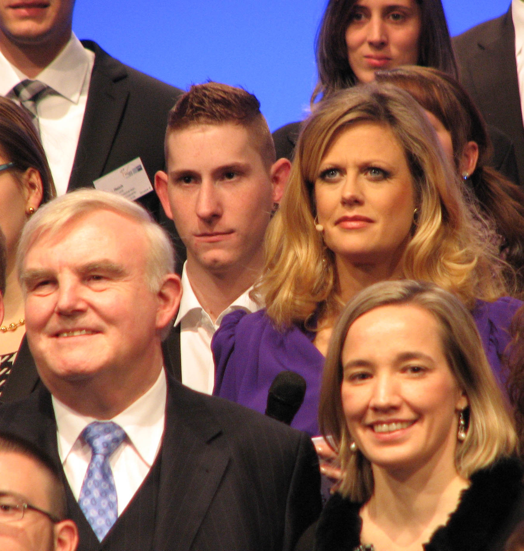 Marc Werner Prokesch at the award ceremony
