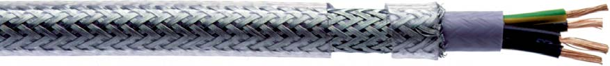 CC 500 SY Flexible Steel Braided Power and Control Cable